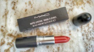 MAC Matte Lipstick in Chili : Review, Swatches & Photos