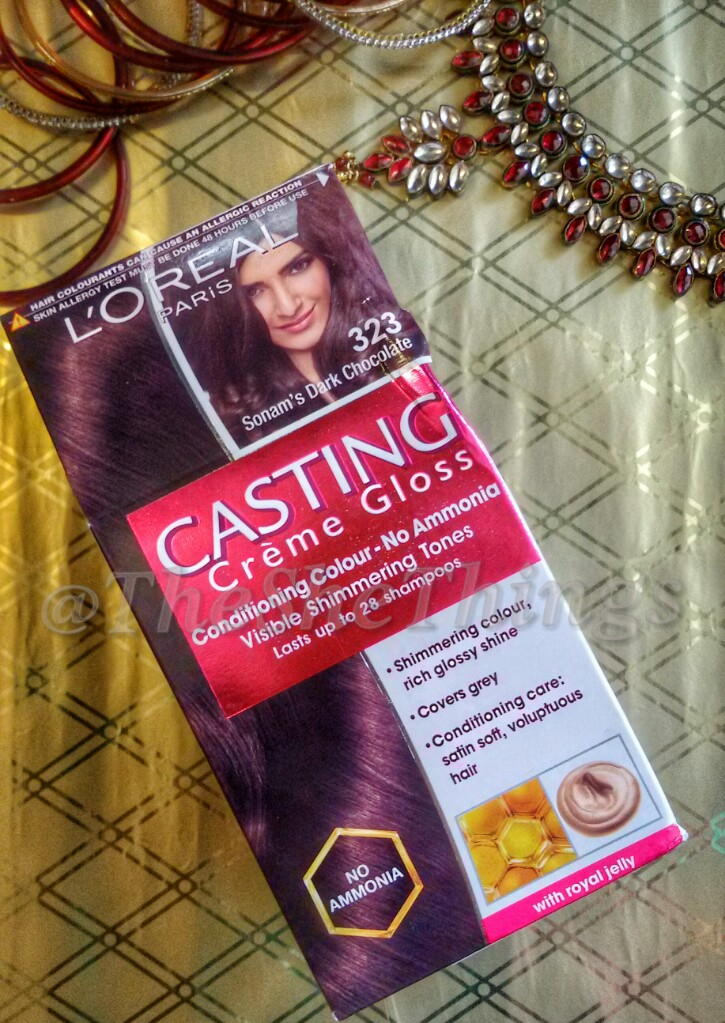 Loreal Paris Casting Creme Gloss Hair Color Review Photos Fotd