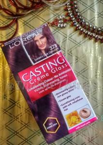 L'Oreal Paris Casting Creme Gloss Hair Color : Review, Photos & FOTD